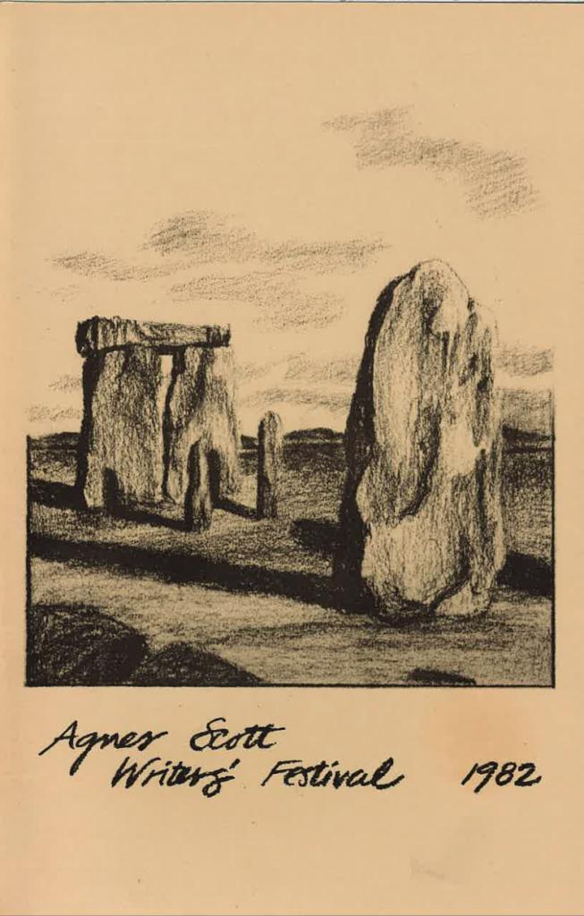 Stonehenge sketch by Susan Glover