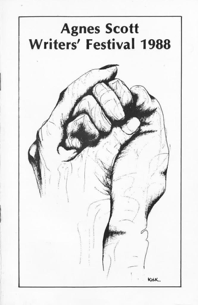 Folded Hands by Karen King